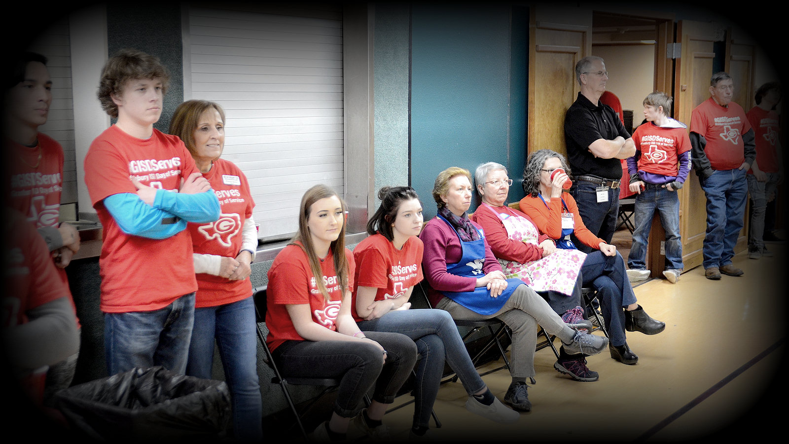 Group of Roll Call volunteers